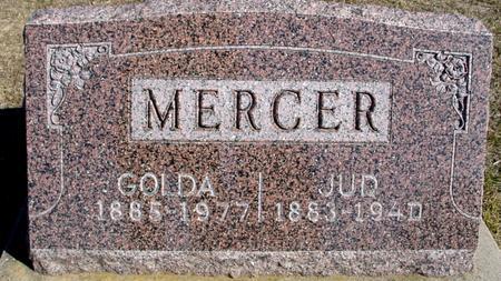 MERCER, JUD & GOLDA - Ida County, Iowa | JUD & GOLDA MERCER