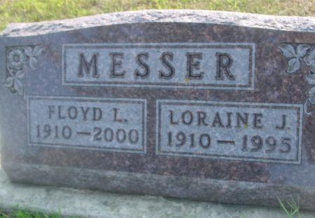 MESSER, FLOYD & LORAINE - Ida County, Iowa | FLOYD & LORAINE MESSER