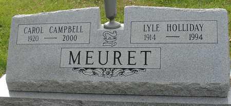 MEURET, LYLE & CAROL - Ida County, Iowa | LYLE & CAROL MEURET