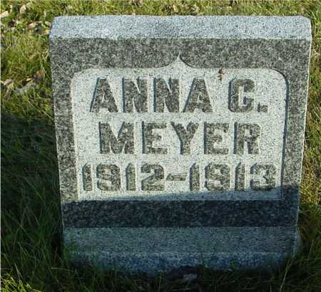 MEYER, ANNA G - Ida County, Iowa | ANNA G MEYER