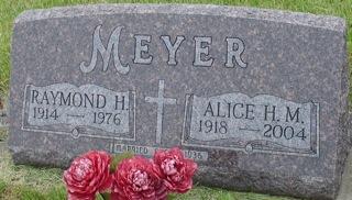 MEYER, ALICE H. M. - Ida County, Iowa | ALICE H. M. MEYER