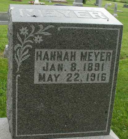 MEYER, HANNAH - Ida County, Iowa   HANNAH MEYER