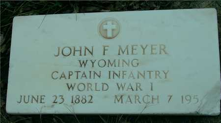 MEYER, JOHN F. - Ida County, Iowa | JOHN F. MEYER