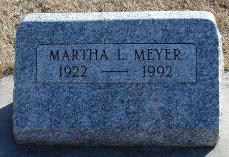 MEYER, MARTHA L. - Ida County, Iowa | MARTHA L. MEYER