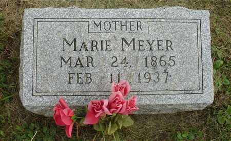 MEYER, MARIE - Ida County, Iowa   MARIE MEYER