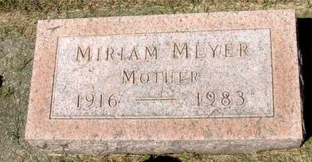 MEYER, MIRIAM - Ida County, Iowa | MIRIAM MEYER