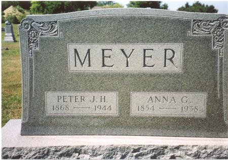 MEYER, PETER & ANNA - Ida County, Iowa | PETER & ANNA MEYER