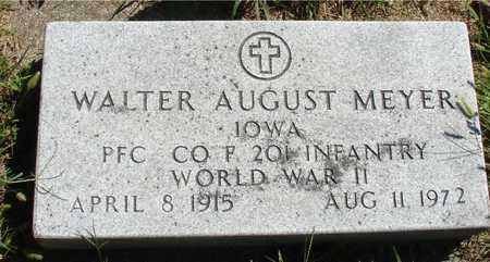 MEYER, WALTER AUGUST - Ida County, Iowa   WALTER AUGUST MEYER