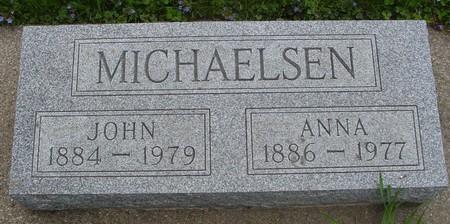 MICHAELSEN, JOHN & ANNA - Ida County, Iowa | JOHN & ANNA MICHAELSEN