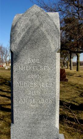 MICKELSEN, AUGUST - Ida County, Iowa | AUGUST MICKELSEN