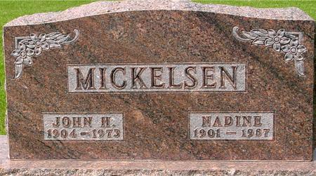 MICKELSEN, JOHN & NADINE - Ida County, Iowa | JOHN & NADINE MICKELSEN