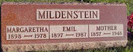MILDENSTEIN, EMIL &  MARGARETTA - Ida County, Iowa | EMIL &  MARGARETTA MILDENSTEIN