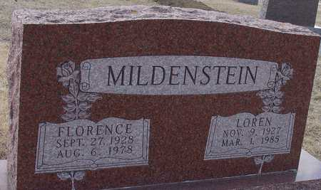 MILDENSTEIN, LOREN & FLORENCE - Ida County, Iowa | LOREN & FLORENCE MILDENSTEIN