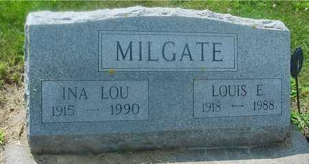 MILGATE, LOUIS & INA LOU - Ida County, Iowa | LOUIS & INA LOU MILGATE