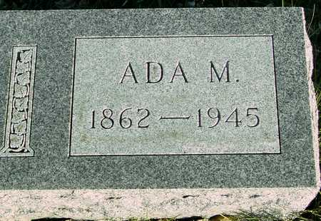 MILLER, ADA M. - Ida County, Iowa   ADA M. MILLER