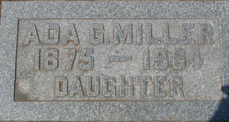 FERGUSON MILLER, ADA G. - Ida County, Iowa   ADA G. FERGUSON MILLER
