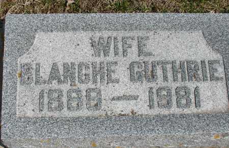GUTHRIE MILLER, BLANCHE - Ida County, Iowa | BLANCHE GUTHRIE MILLER