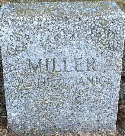 MILLER, DUANE & JANICE - Ida County, Iowa   DUANE & JANICE MILLER