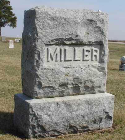 MILLER, FAMILY MARKER - Ida County, Iowa | FAMILY MARKER MILLER