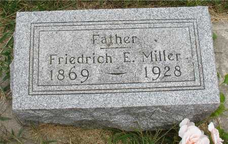 MILLER, FRIEDRICH E. - Ida County, Iowa | FRIEDRICH E. MILLER