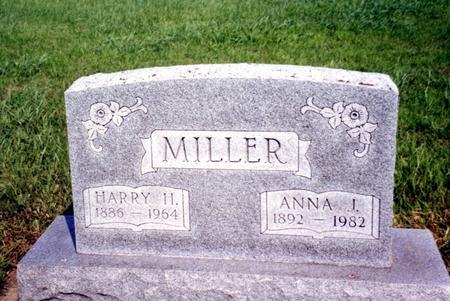 MILLER, HARRY & ANNA J. - Ida County, Iowa | HARRY & ANNA J. MILLER