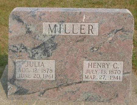 MILLER, HENRY C. & JULIA - Ida County, Iowa | HENRY C. & JULIA MILLER