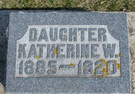 MILLER, KATHERINE W. - Ida County, Iowa | KATHERINE W. MILLER