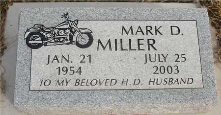 MILLER, MARK D. - Ida County, Iowa   MARK D. MILLER