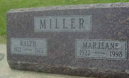 MILLER, RALPH & MARJEANE - Ida County, Iowa   RALPH & MARJEANE MILLER