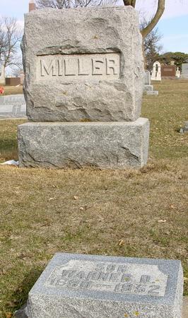 MILLER, WARNER D. - Ida County, Iowa   WARNER D. MILLER