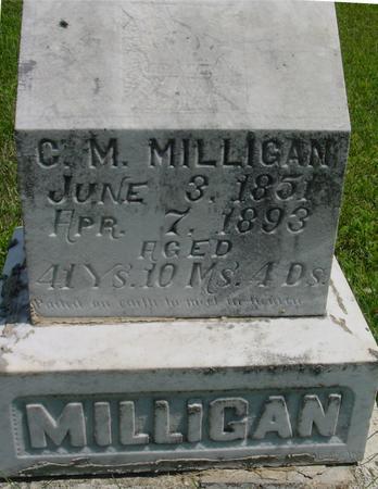 MILLIGAN, C. M. - Ida County, Iowa | C. M. MILLIGAN