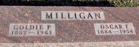 MILLIGAN, OSCAR & GOLDIE - Ida County, Iowa | OSCAR & GOLDIE MILLIGAN