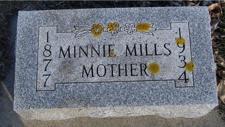 MILLS, MINNIE - Ida County, Iowa | MINNIE MILLS