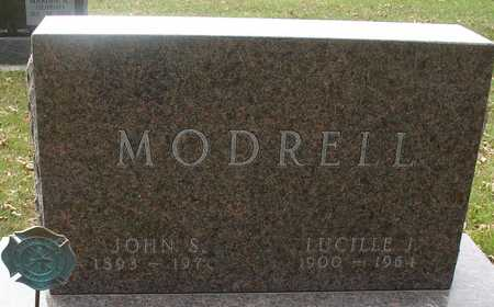 MODRELL, LUCILLE J. - Ida County, Iowa   LUCILLE J. MODRELL