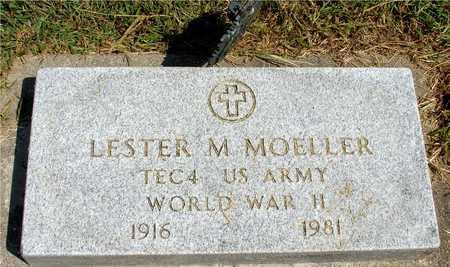 MOELLER, LESTER M. - Ida County, Iowa   LESTER M. MOELLER