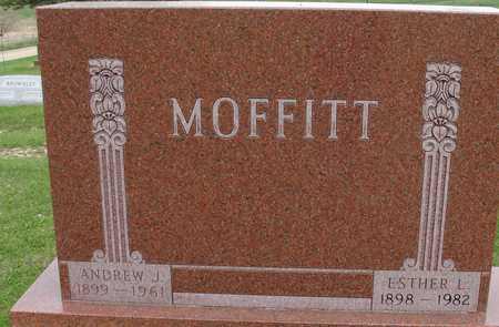MOFFITT, ANDREW & ESTHER - Ida County, Iowa   ANDREW & ESTHER MOFFITT
