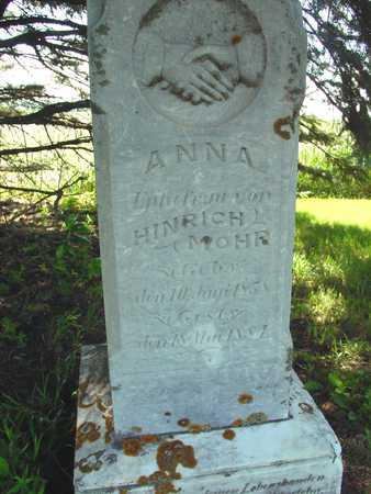 MOHR, ANNA - Ida County, Iowa   ANNA MOHR
