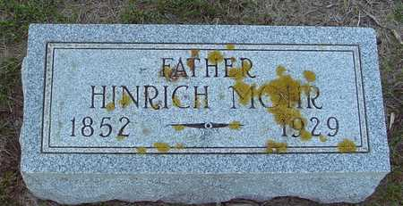 MOHR, HINRICH - Ida County, Iowa | HINRICH MOHR