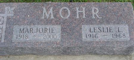 MOHR, LESLIE & MARJORIE - Ida County, Iowa | LESLIE & MARJORIE MOHR