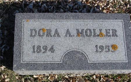 MOLLER, DORA A. - Ida County, Iowa | DORA A. MOLLER