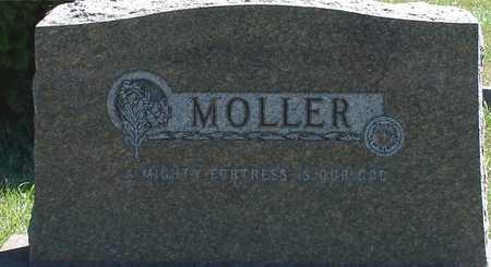 MOLLER, FAMILY MARKER - Ida County, Iowa   FAMILY MARKER MOLLER