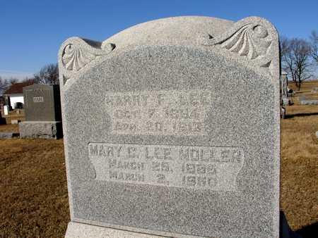LEE MOLLER, MARY CATHERINE - Ida County, Iowa | MARY CATHERINE LEE MOLLER