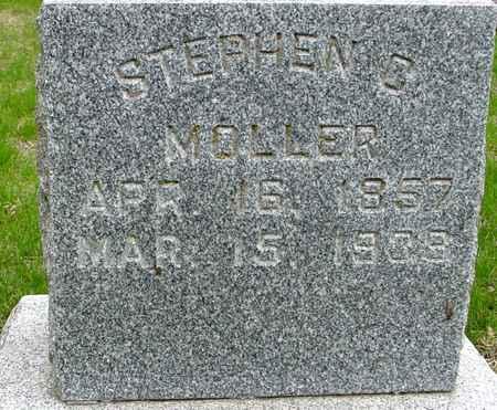 MOLLER, STEPHEN  G. - Ida County, Iowa   STEPHEN  G. MOLLER