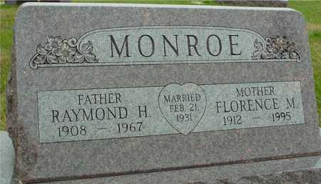 MONROE, RAY & FLORENCE - Ida County, Iowa   RAY & FLORENCE MONROE