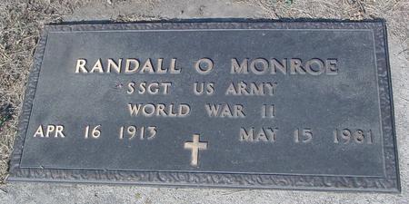 MONROE, RANDALL - Ida County, Iowa | RANDALL MONROE