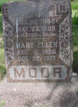 MOOR, MARTIN - Ida County, Iowa | MARTIN MOOR