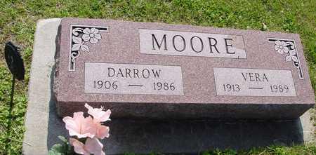 MOORE, DARROW  D. & VERA - Ida County, Iowa | DARROW  D. & VERA MOORE