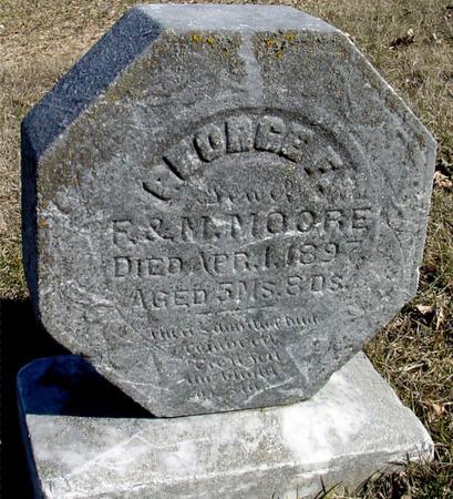 MOORE, GEORGE F. - Ida County, Iowa | GEORGE F. MOORE