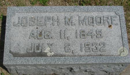 MOORE, JOSEPH M. - Ida County, Iowa | JOSEPH M. MOORE
