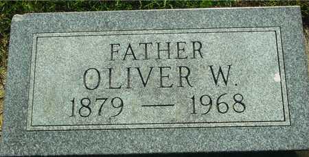 MOORE, OLIVER W. - Ida County, Iowa   OLIVER W. MOORE